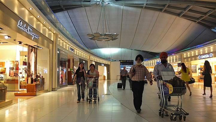 duty free shopping at airport