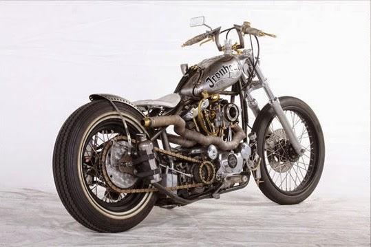 ϟ Kustom ϟ: Harley Davidson By Independent Choppers