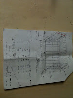 schema di realizzazione della gabbia per auto