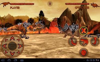 DinoFight Mod (Free Shopping) v1.0 APK