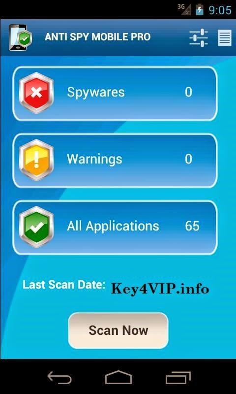 Anti Spy Mobile PRO v1.9.9.0 For Android,Tiêu diệt phần mềm gián điệp cho Android