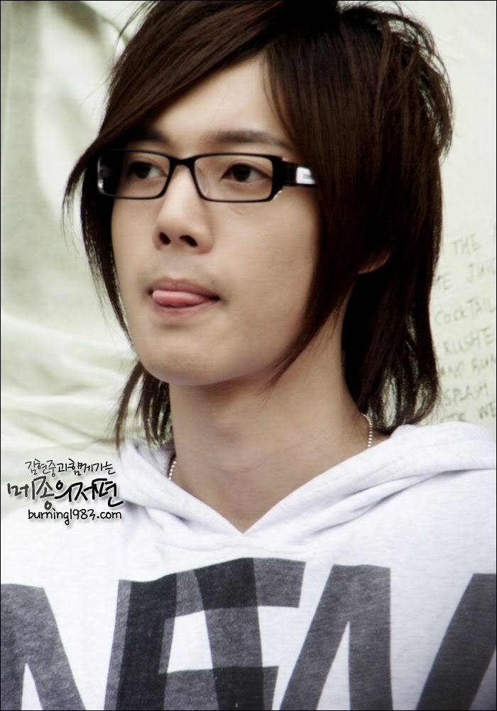Photos Blast From The Past Hyun Joongs Fabolous Hairstyles