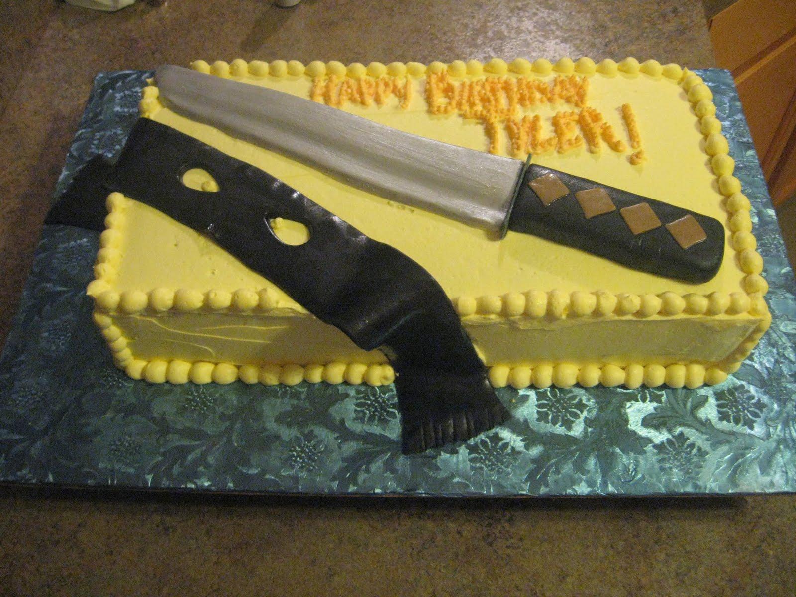 Cakes Ninja Birthday Cake