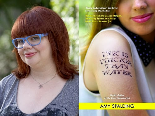Amy Spalding, author of Ink Is Thicker Than Water
