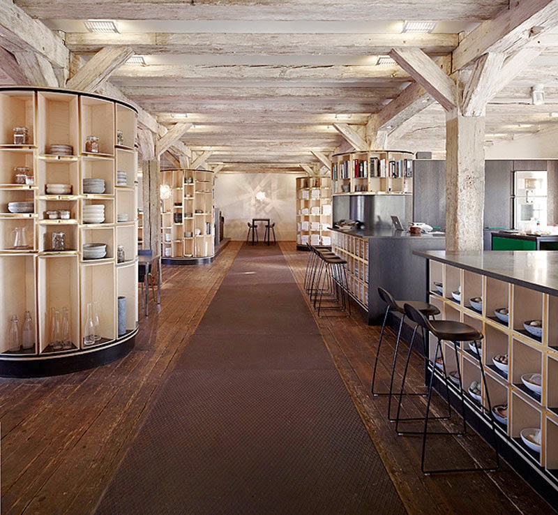 el interior del restaurante Noma