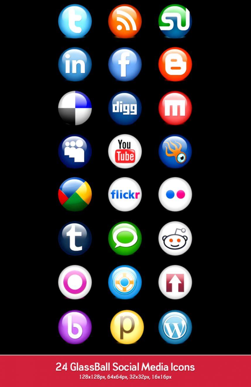 500 Best Free Social Media Icon Sets › Free Icon SetsCSS Author