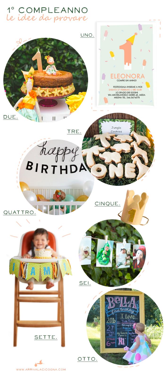 idee per la festa del primo compleanno