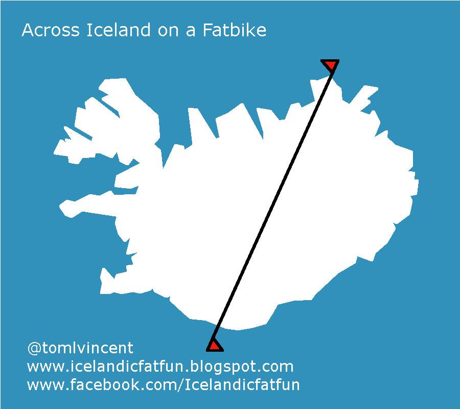 Across Iceland on a Fatbike