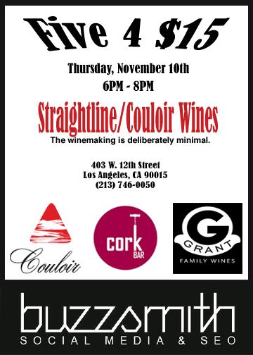 Los Angeles Wine Tasting Events This Week