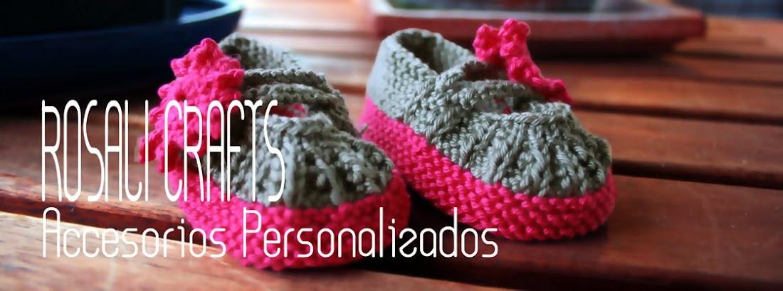 Rosalí Crafts. Accesorios personalizados.