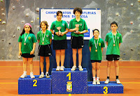 Podio infantil dobles mixtos 2013
