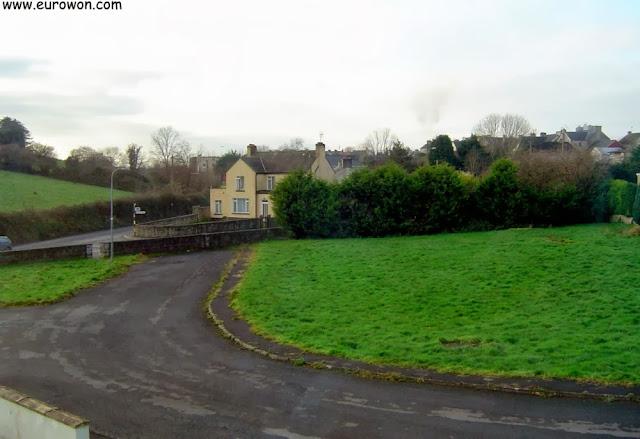 Vista de las casas de Scariff