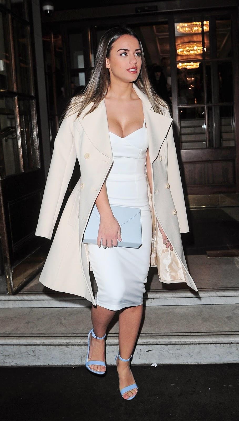 Amp magazines actress model georgia may foote london fashion week