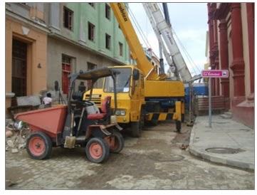 Reparaciones capitales en la ciudad de los tinajones