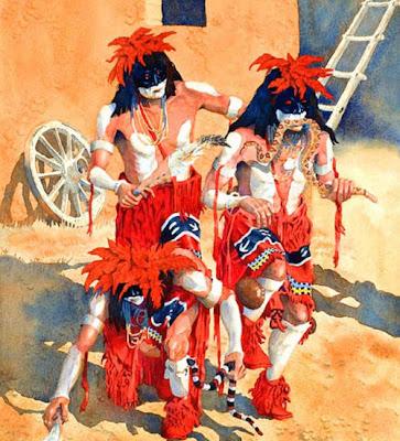 Ceremonia de la Serpiente Hopi