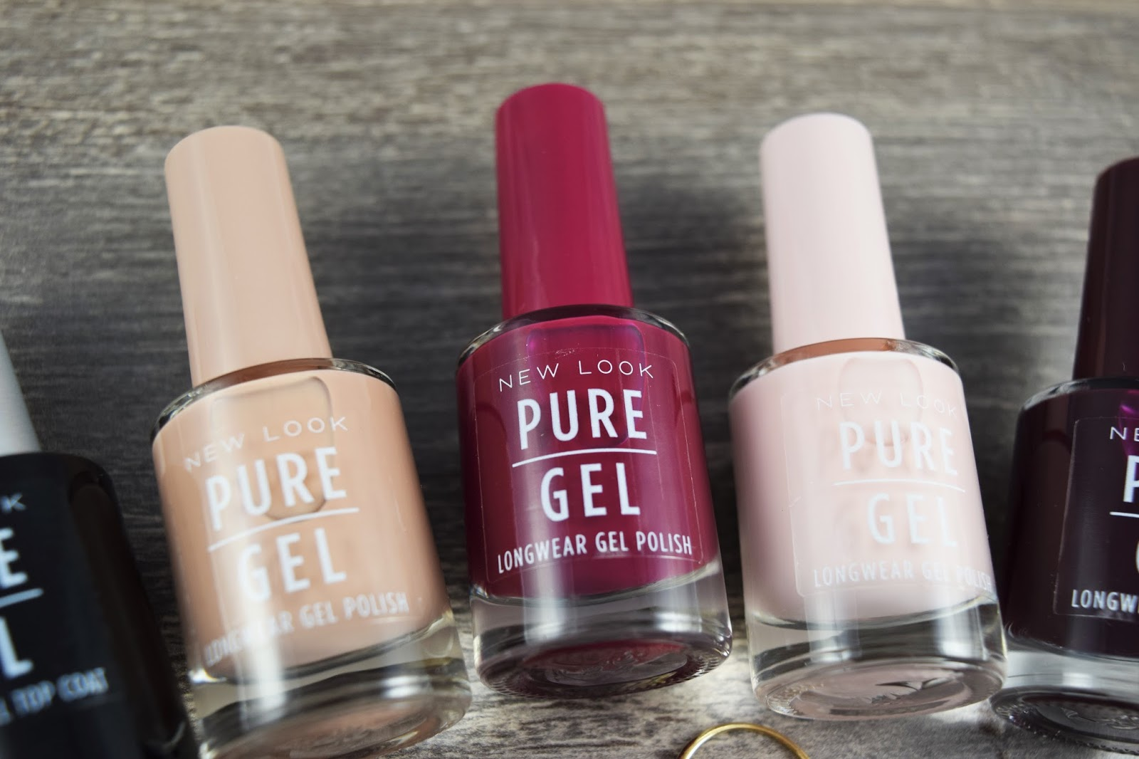 NEW LOOK PURE COLOUR PURE GEL NAIL POLISHES - A Life With Frills