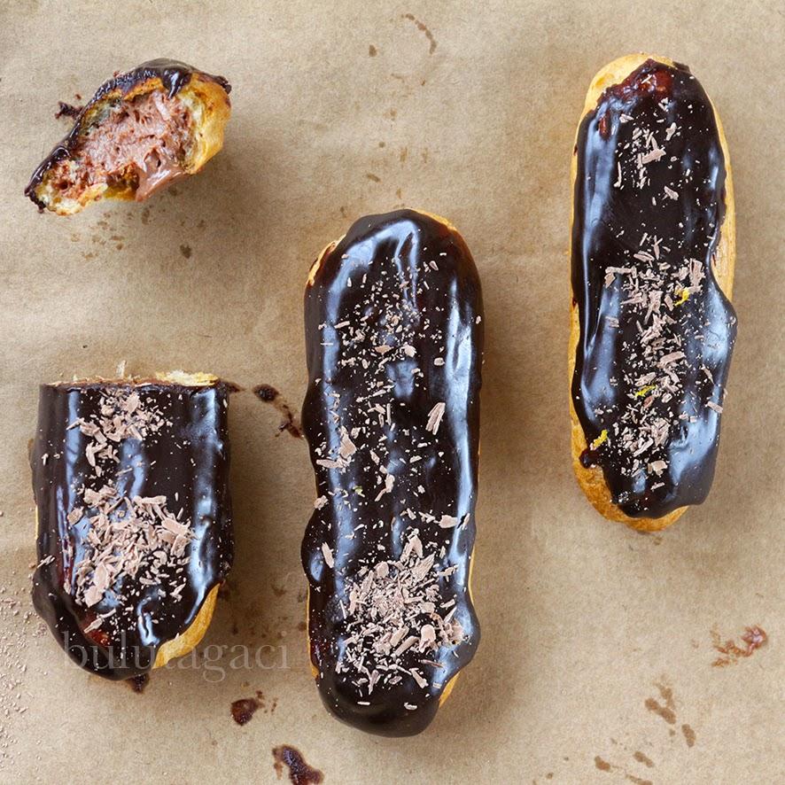 Çikolatalı Klasik Ekler tarifi