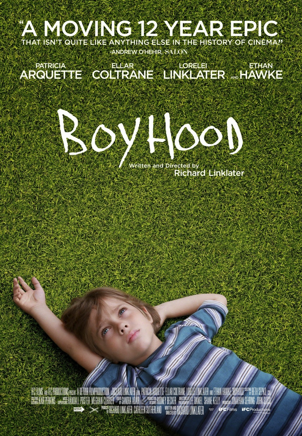 Boyhood Richard Linklater film poster
