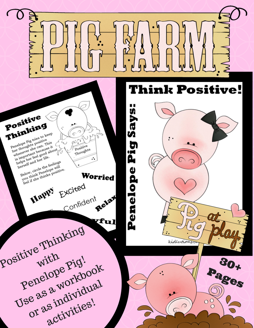 The Pig That Helps Kids Think Positively!