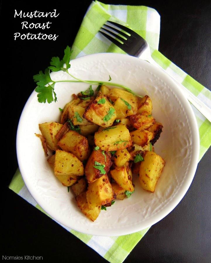 Nomsies Kitchen : Mustard Roast Potatoes