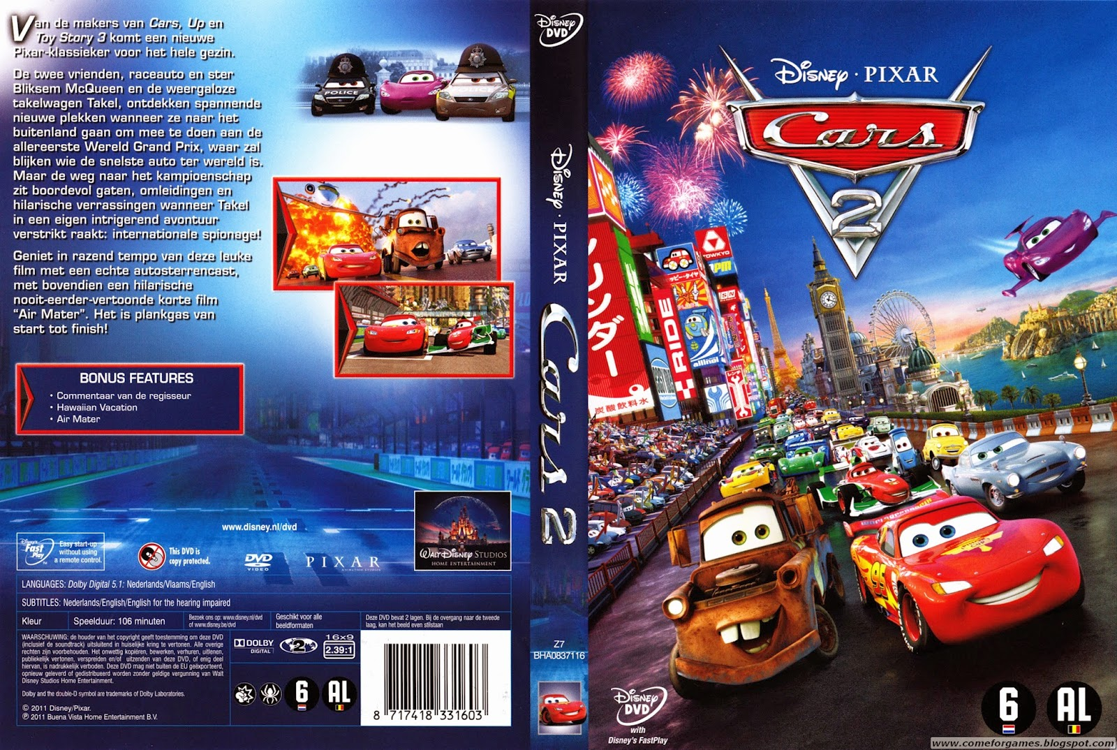 Cars Driving Game Disney