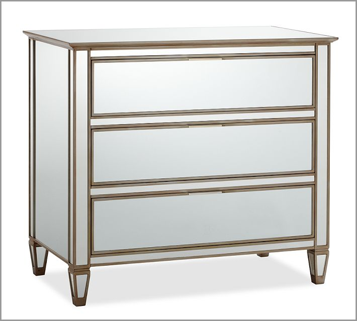 Pottery Barn Mirrored Furniture: The Cuban In My Coffee: Mirrored Night Stands, Yes Please