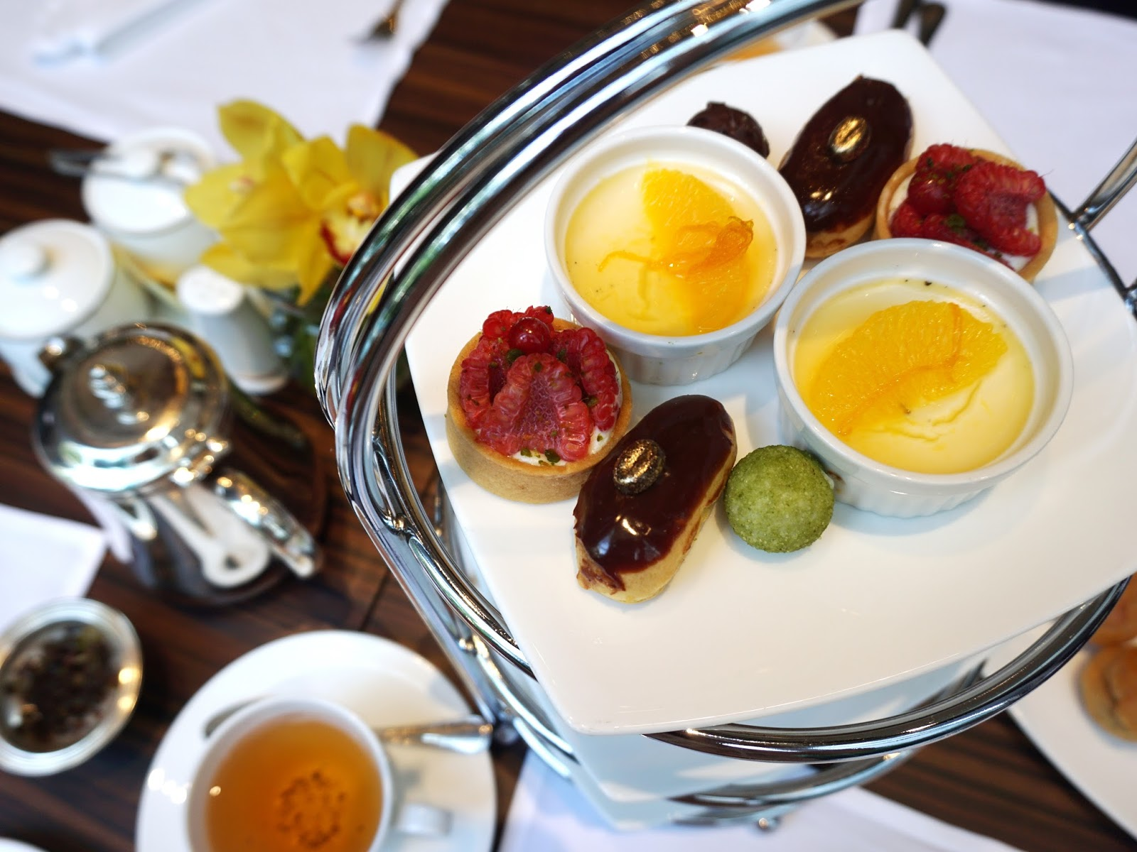 Pinkypiggu the grand astor afternoon tea at brasserie les saveurs the grand astor afternoon tea at brasserie les saveurs the st regis singapore forumfinder Image collections