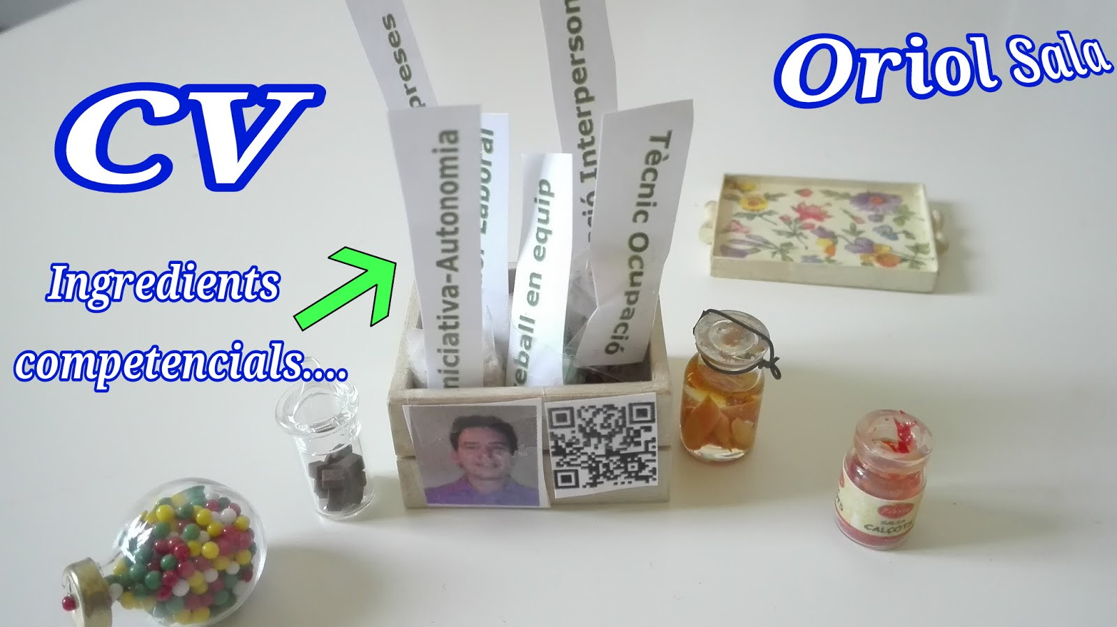 CV interactiiu: Ingredients Competencials