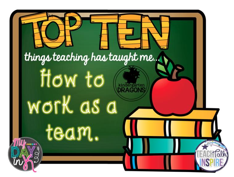 Kindergarten Dragons: Tell All Tuesday: Top Ten Things Teaching ...