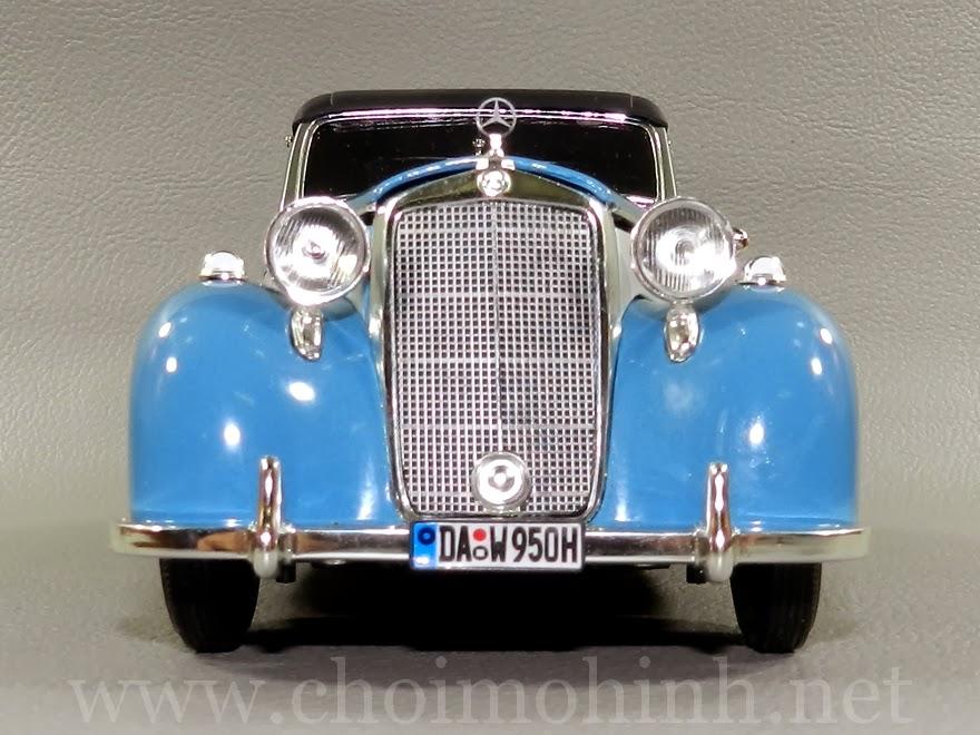 Mercedes-Benz 170S Cabriolet 1950 1:18 Signature front