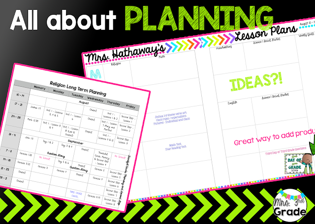 Planning ideas to make back to school easier