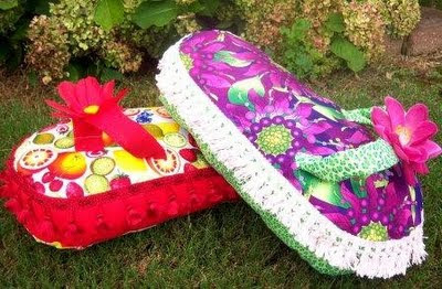 Sewing Ideas | Project on Craftsy: Flip Flop pillow