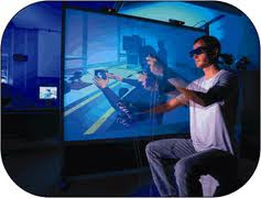 immersive of multitmedia The use of computers to present text, graphics, video, animation, and sound in an integrated way long touted as the future revolution in computing, multimedia.