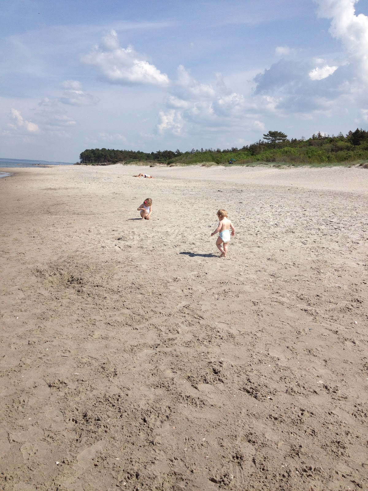 gravid billeder på stranden