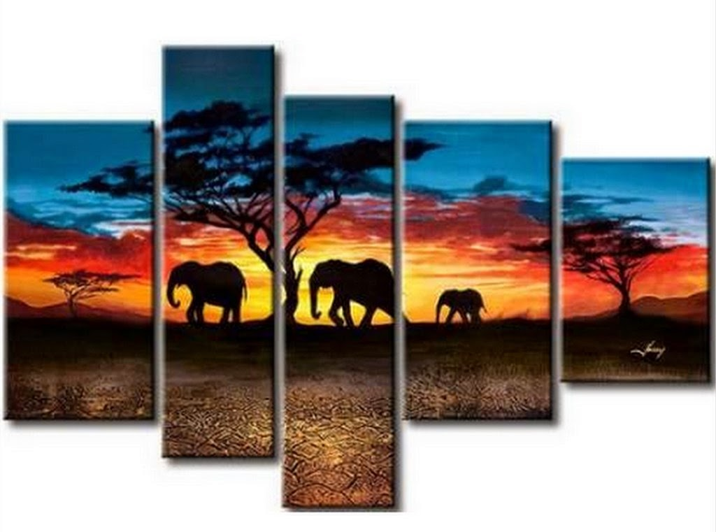 cuadros-de-paisajes-africanos
