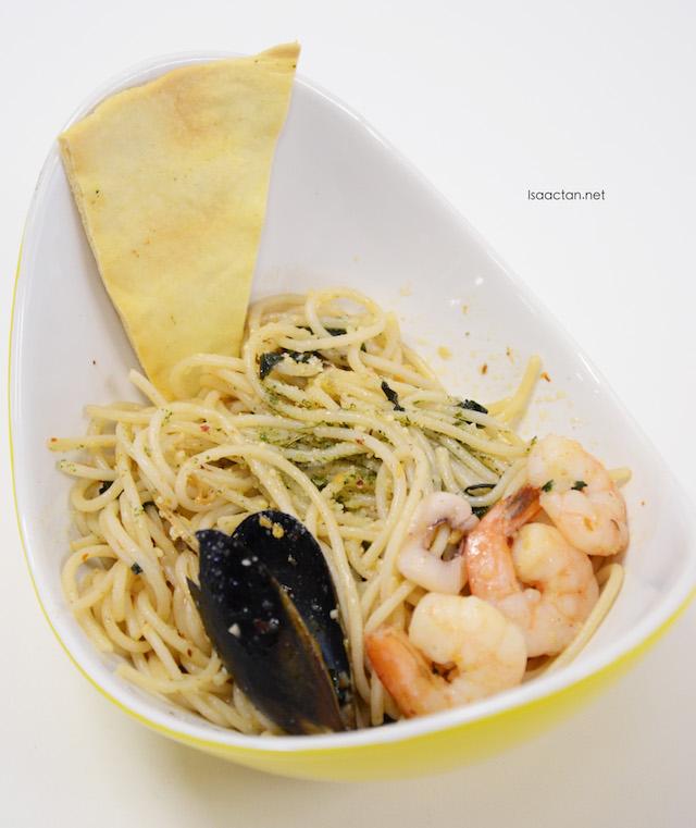 Seafood Aglio Olio - RM15.80