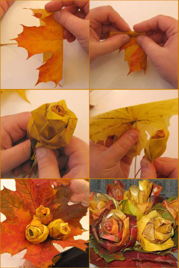 Autumn lights picture homemade decoration ideas