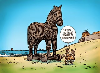 trojan horse cartoon - Google Search