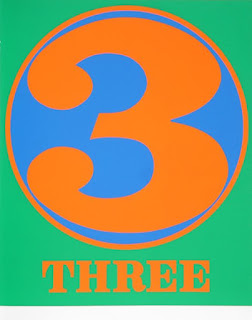robert indiana creely numbers serigraphs three 3