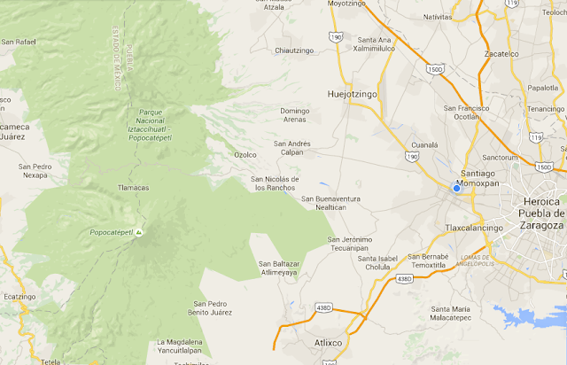 Realizan estudios de geolocalización en Calpan