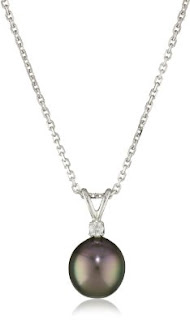 TARA Pearls Cultured Pearl 18 Karat White Gold Pendant Necklace