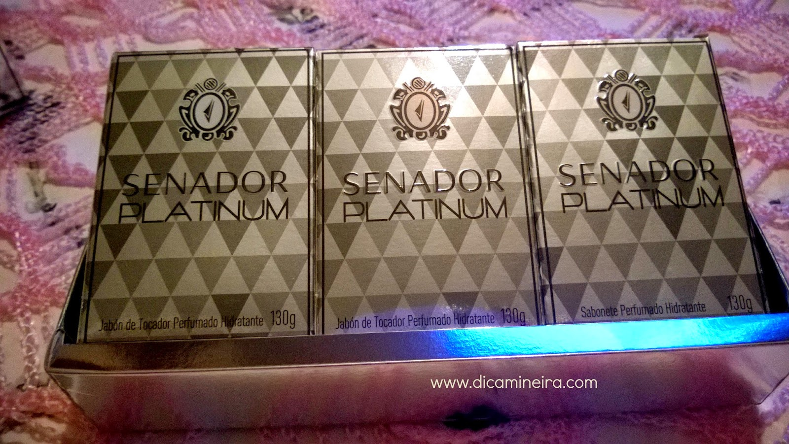 Senador Platinum | Sabonete Perfumado Hidratante