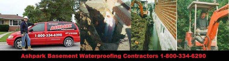 Ashpark Basement Foundation Epoxy Polyurethane Concrete Crack Repair 1-800-334-6290