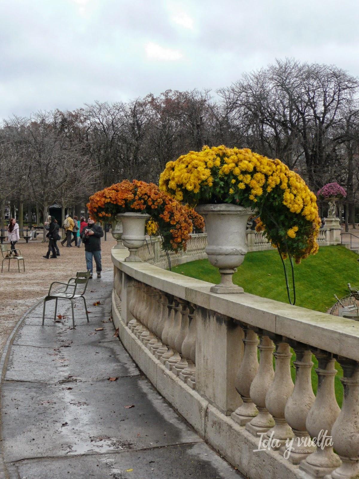 Jardines de Luxemburgo en París