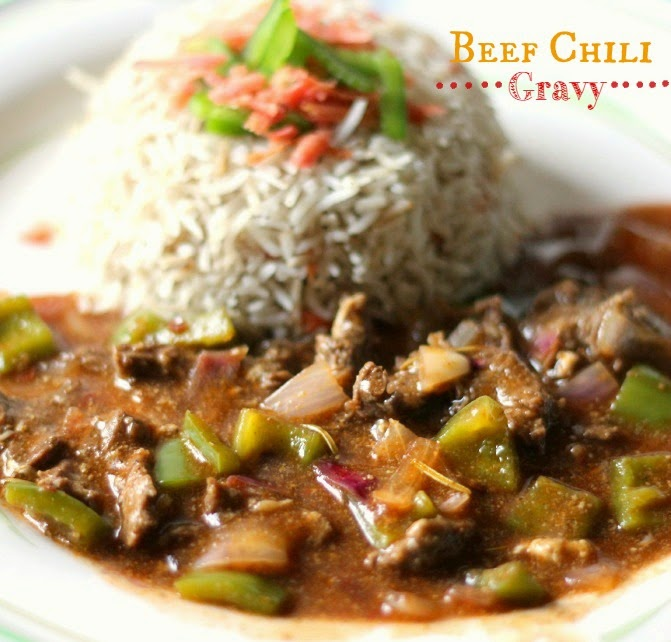 Tickle those tastebuds food beauty lifestyle beef chili gravy chinese beef chili gravy recipe forumfinder Choice Image