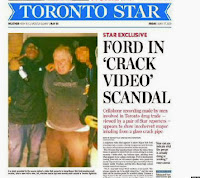 Rob Ford, Crack video, Toronto Star, scabdal,