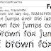 Set 15 Fonts