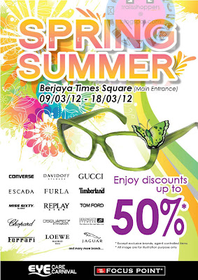 Eye Care Carnival Spring Summer Sale