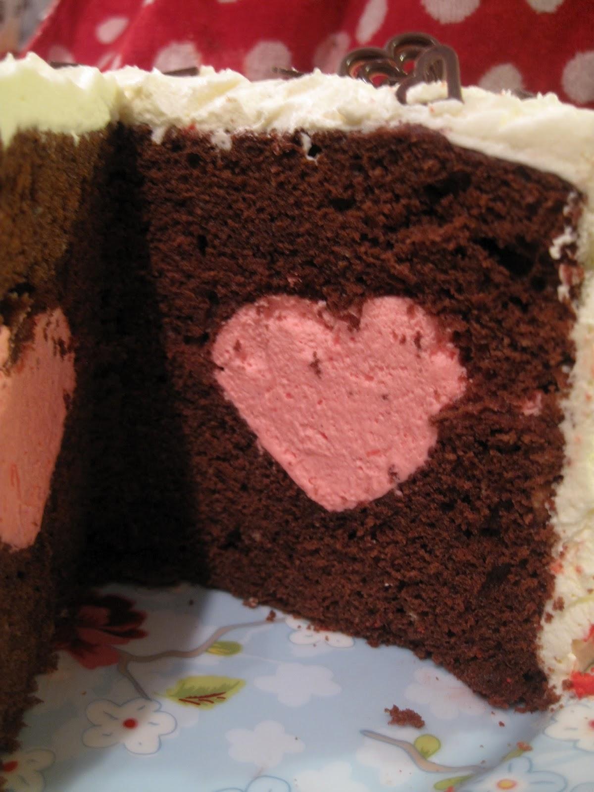 Wilton Heart Tasty Fill Cake A how to gIrL bAkeS