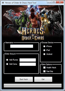 Heroes of Order and Chaos Free Hack Cheat [ANDROID][IOS]